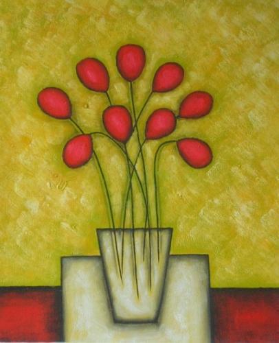 obraz Červené kuličky