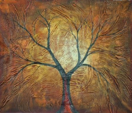 obraz Strom v podzimu