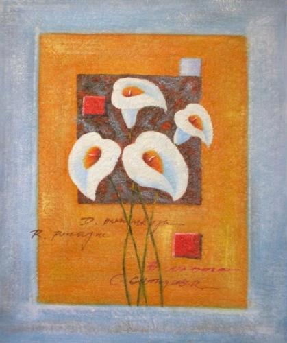 obraz Veselé květy