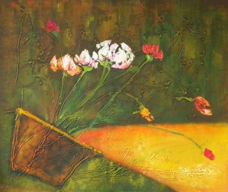 obraz Svítící váza