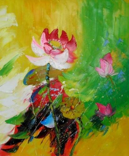 obraz Odolná květina