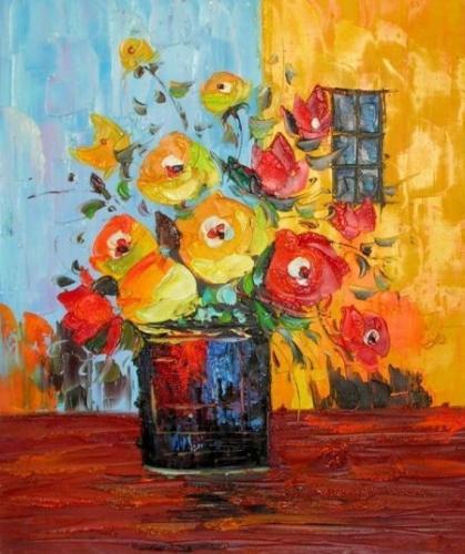 obraz Kytice květů