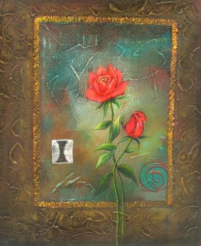 obraz Červené růže