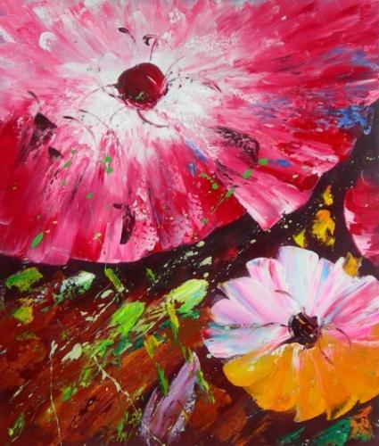 obraz Zemské květy
