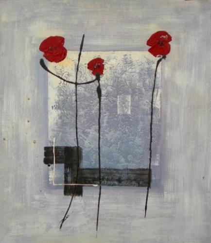 obraz Slabé květy