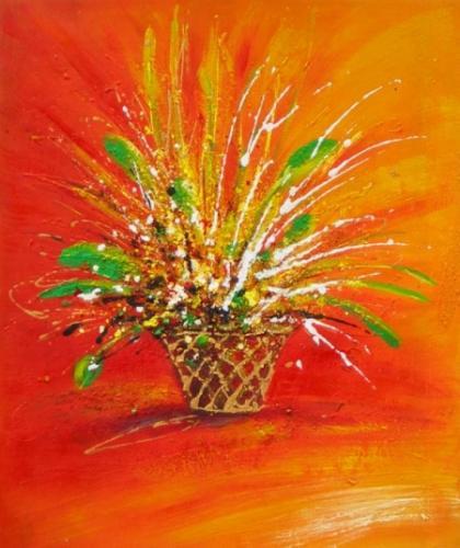 obraz Velikonoční květina