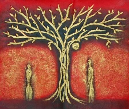 obraz Strom Adama a Evy
