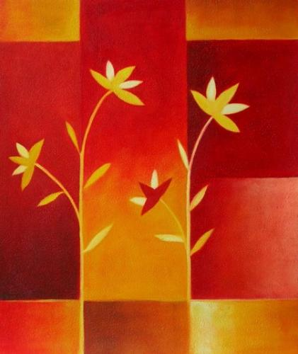 obraz Květinky