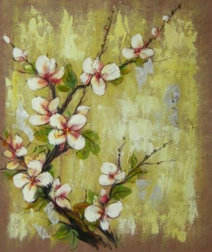 obraz Květy broskve