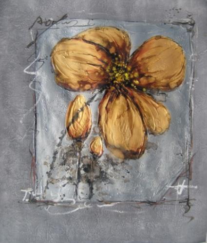obraz Zlatý květ