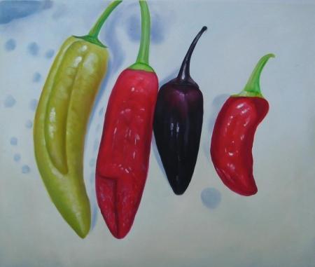 obraz Papriky