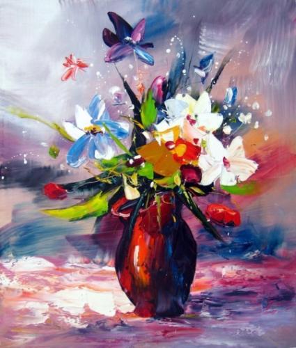 obraz Nebeská květina
