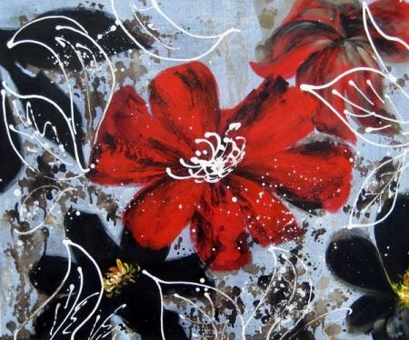 obraz Listový květ II.