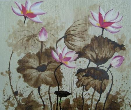 obraz Zvadlé květy