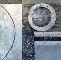 obraz Kruhy v šedém