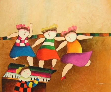 obraz Taneční doprovod
