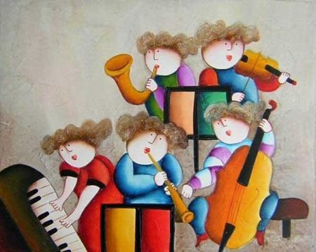 obraz Hudební škola
