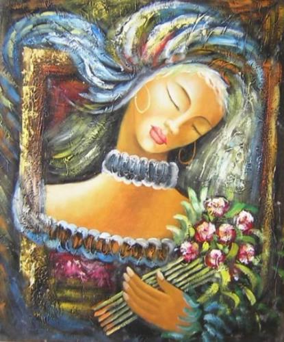 obraz Spící krása