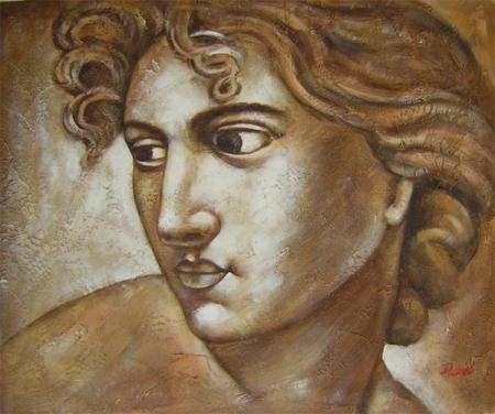 obraz Antický portrét