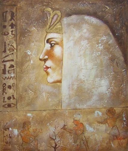 obraz Egyptská žena