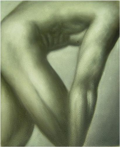 obraz Nahý muž
