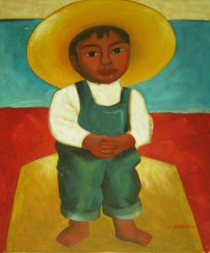 obraz Malý mexičan