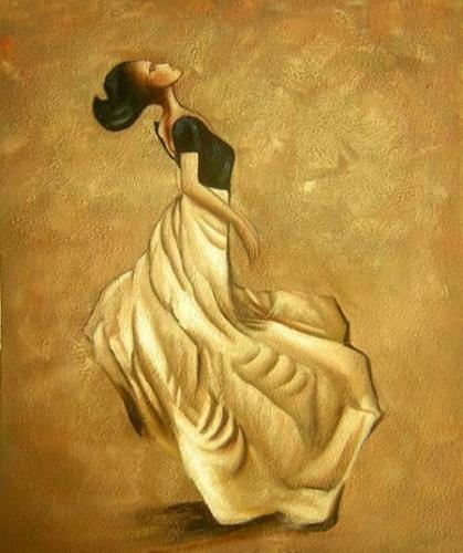 obraz Orientální tanečnice