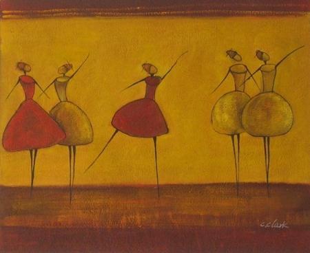 obraz Baletní vystoupení