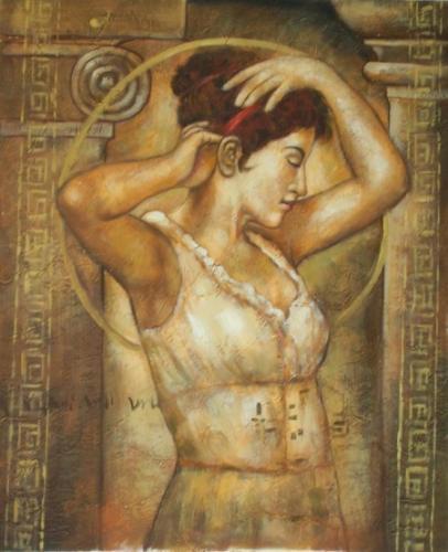 obraz Řecká dáma
