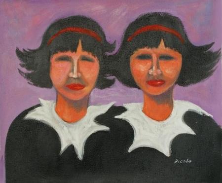 obraz Dvojčata