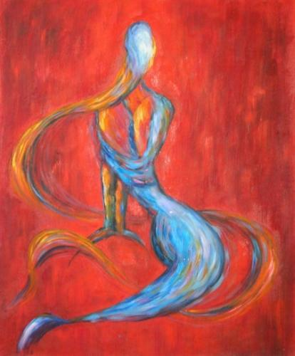 obraz Abstraktní žena