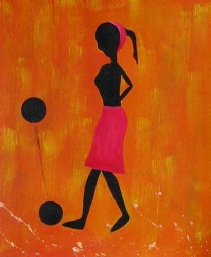obraz Dívka