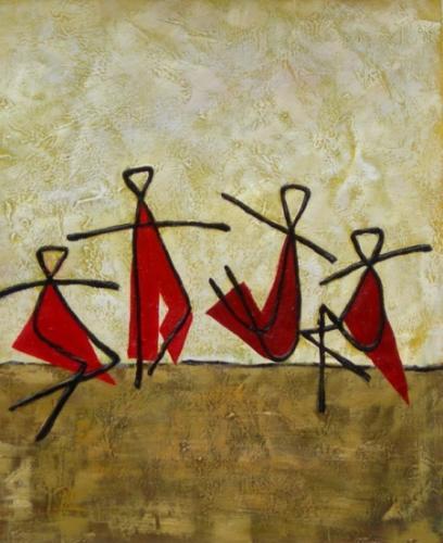 obraz Tančící děti