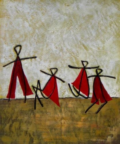 obraz Tančící děti II.