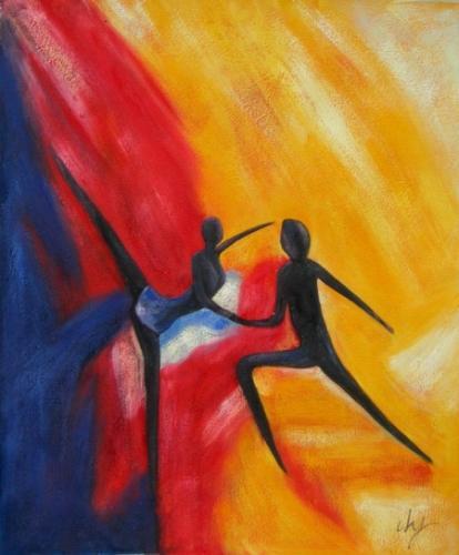 obraz Scénický tanec