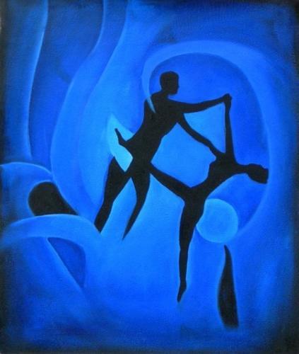 obraz Tanečníci v moři