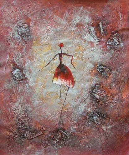 obraz Baletka v prostoru II.