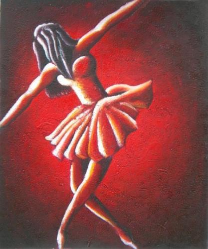 obraz Čerevená baletka