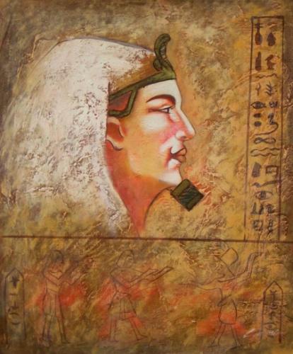 obraz Hlava válečníka