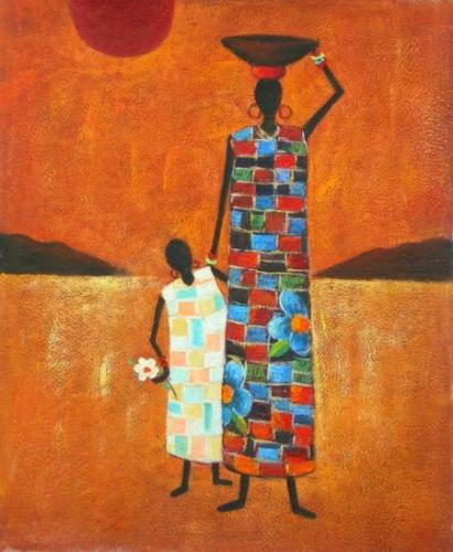 obraz Žena s dítětem