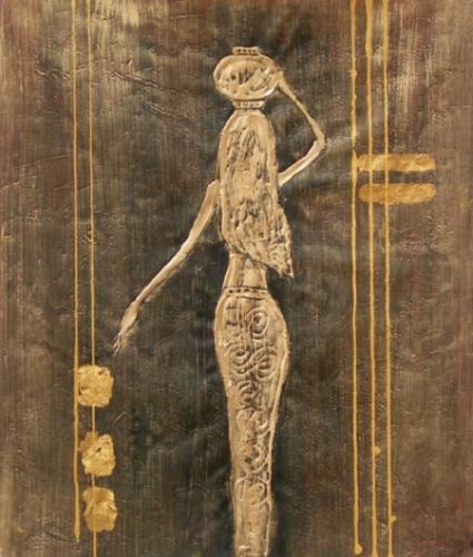 obraz Zlatá žena