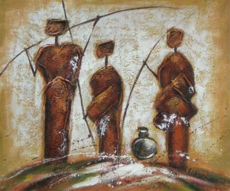 obraz Domorodý kmen