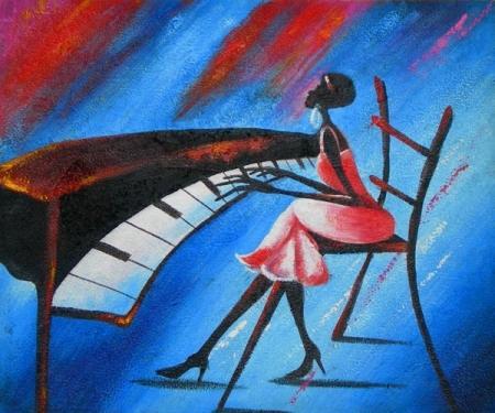 obraz Koncert na piano