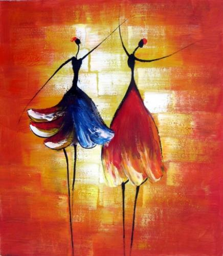 obraz Tančící baletky