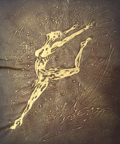 obraz Zlatý skok