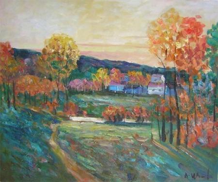 obraz Podzimní venkov