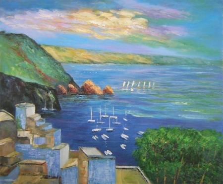 obraz Mořské pobřeží