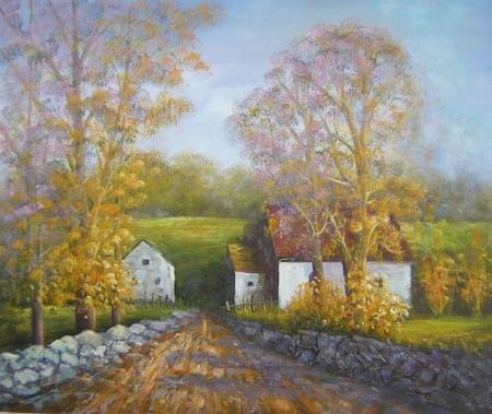 obraz Podzimní cesta