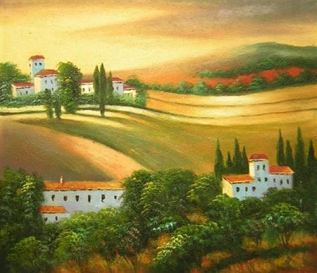 obraz Vesnické svítání