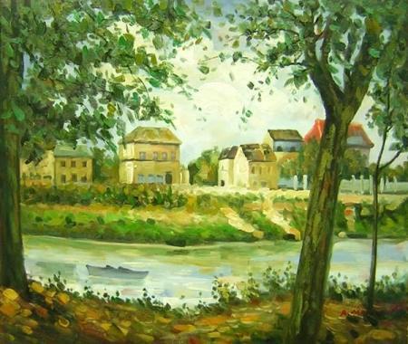 obraz Na kraji řeky